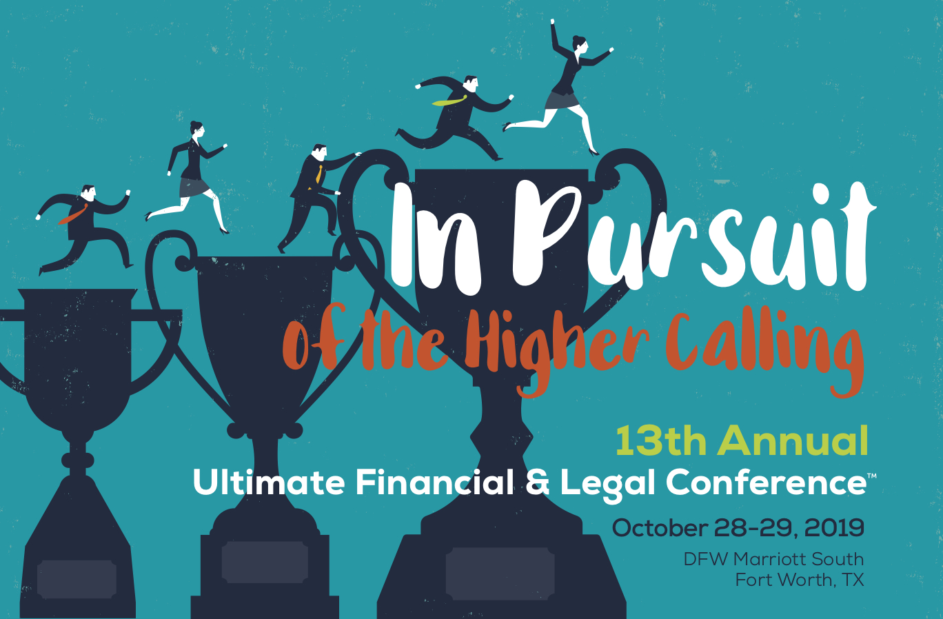 2019 Ultimate Financial Legal Conference logo