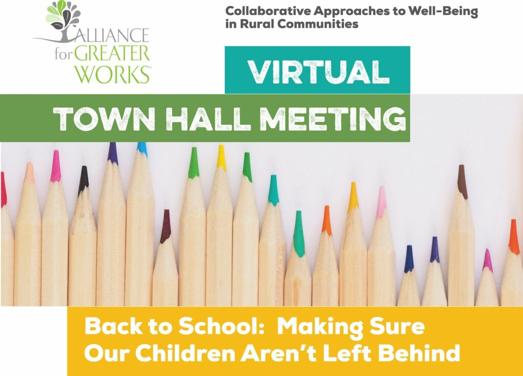 August Virtual Town Hall meeting