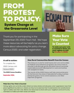 From Protest to Policy