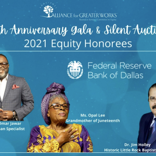 Announcing Alliance for Greater Works' 2021 Equity Champions