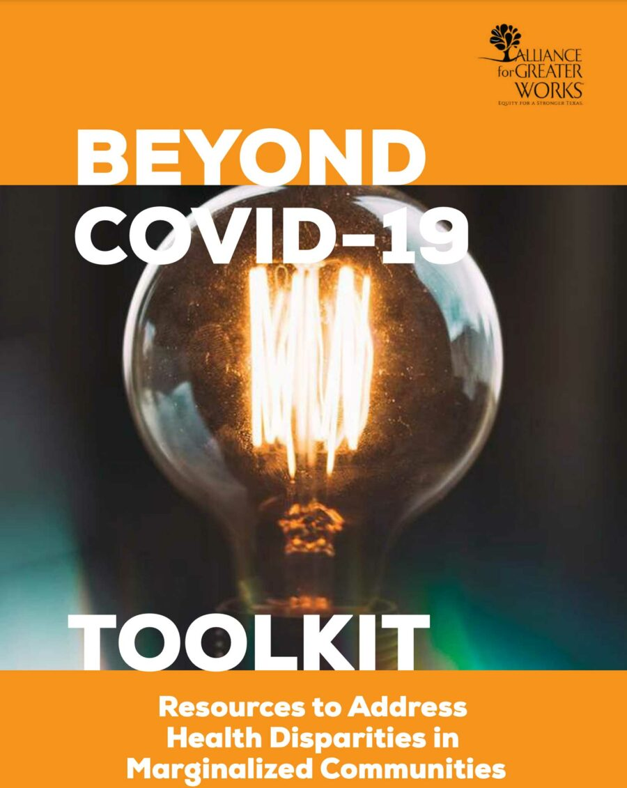 Beyond COVID-19: Resources to Address Health Disparities in Marginalized Communities Toolkit
