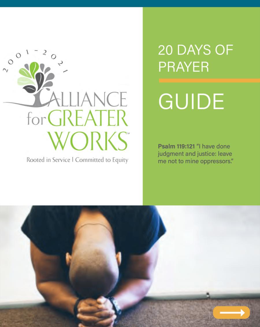 20 Days of Prayer Guide