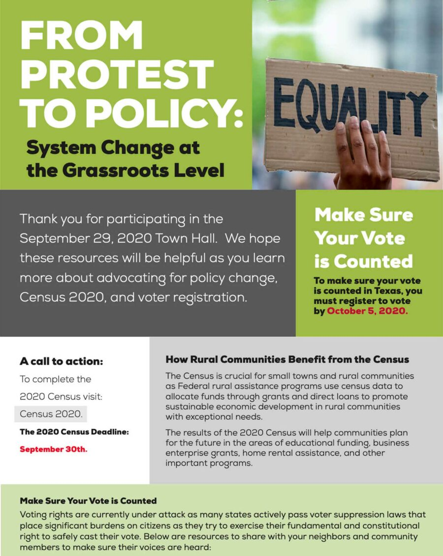 From Protest to Policy Toolkit